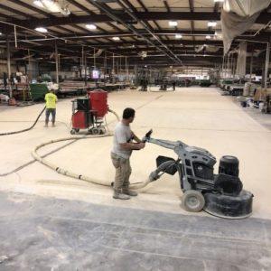 Custom Concrete Creations Polished Concrete Warehouse Polish